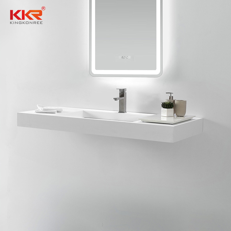 KKR Stone lassic style bathroom vanity with sink in good performance for kitchen tops-2