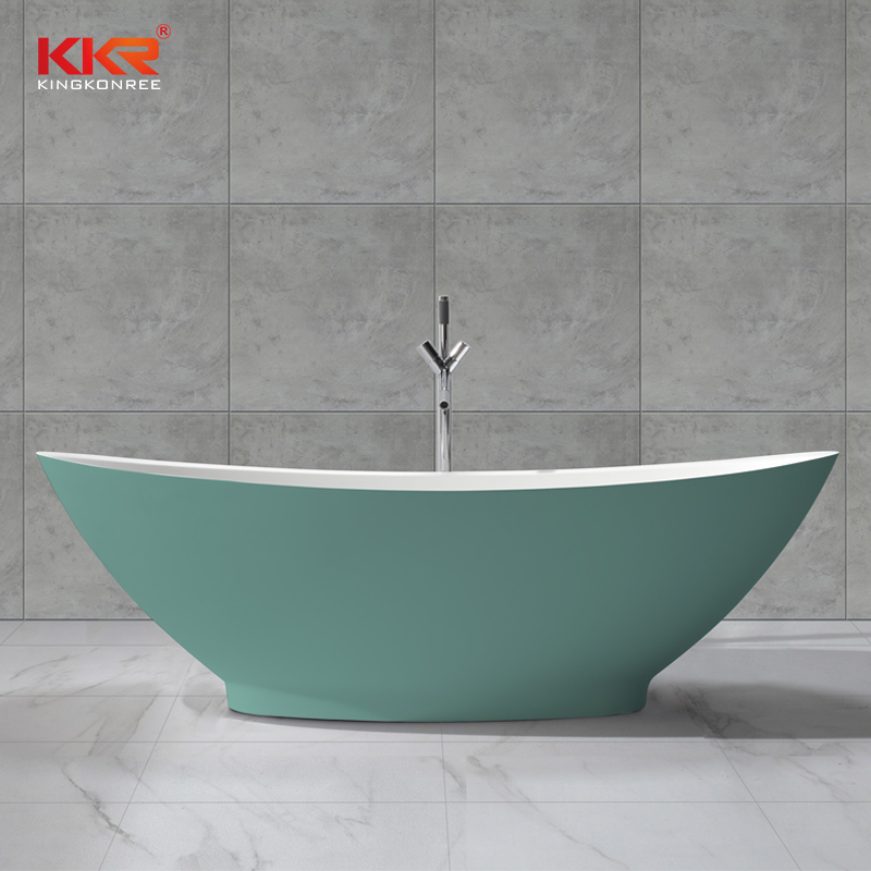 KKR Stone bathtub surround factory price for bathroom-1