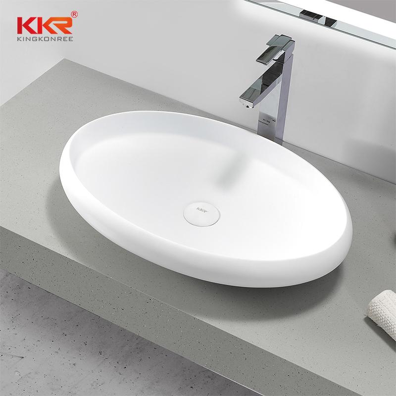 KKR Stone white corian countertops supply for kitchen tops-1