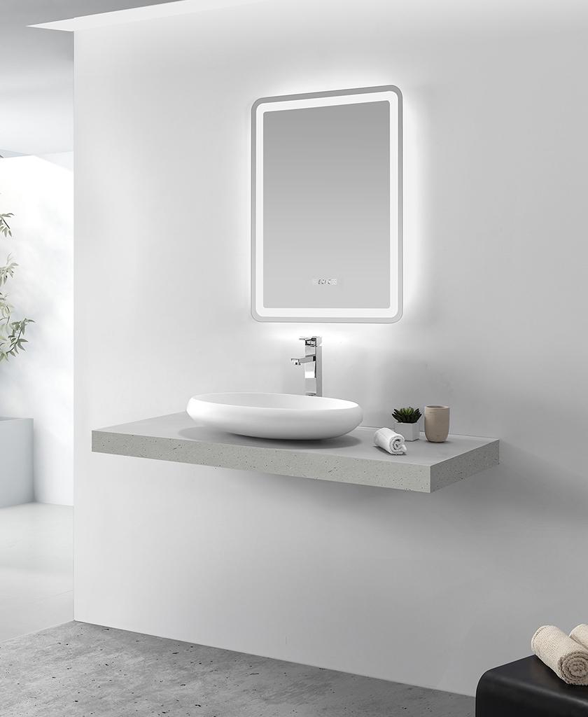 KKR Stone undermount kitchen sink in good performance for kitchen tops-1