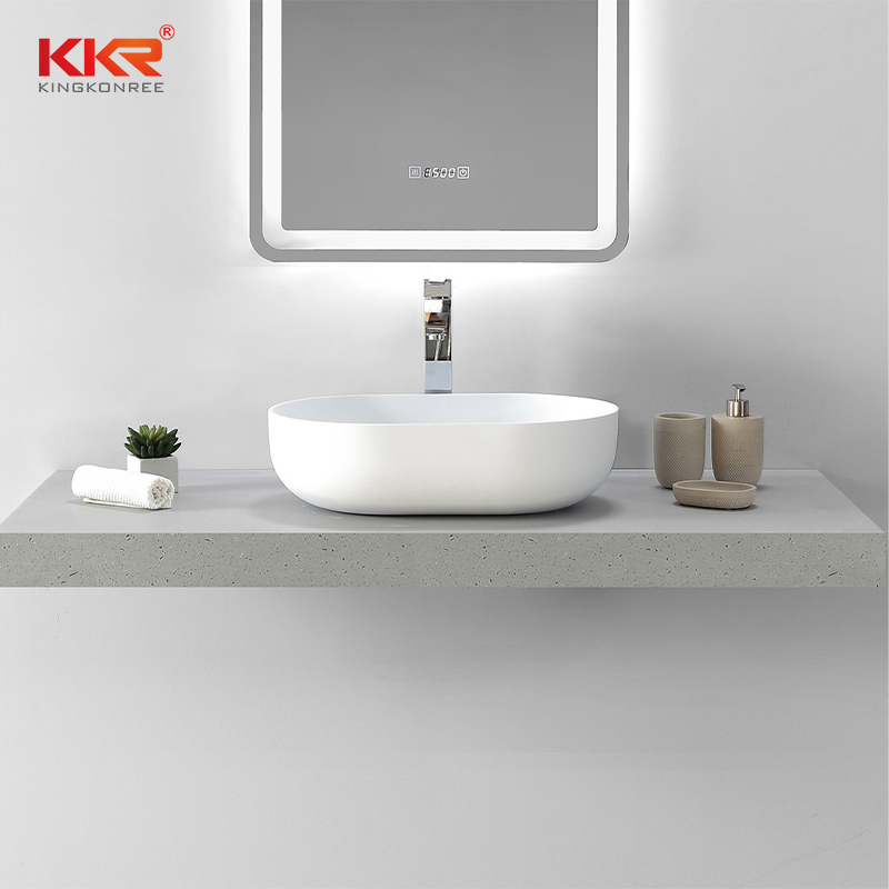 KKR Stone corian sink in good performance for home-2