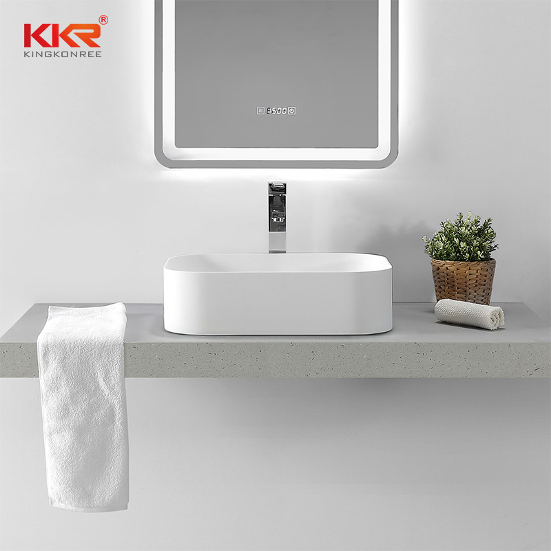 KKR Stone high tenacity corian bathroom sinks in good performance for kitchen tops-2