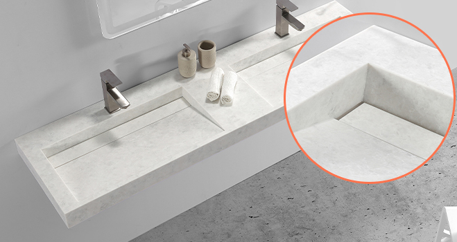 lassic style small bathroom sink in good performance for worktops-5