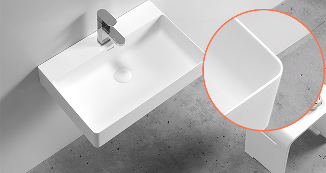 easy to clean corian sink in good performance for school building-5