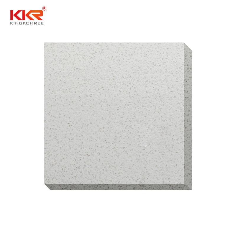 126 inch Artificial Quartz Countertop Material Calacatta Quartz Stone Slab KKR-QF009
