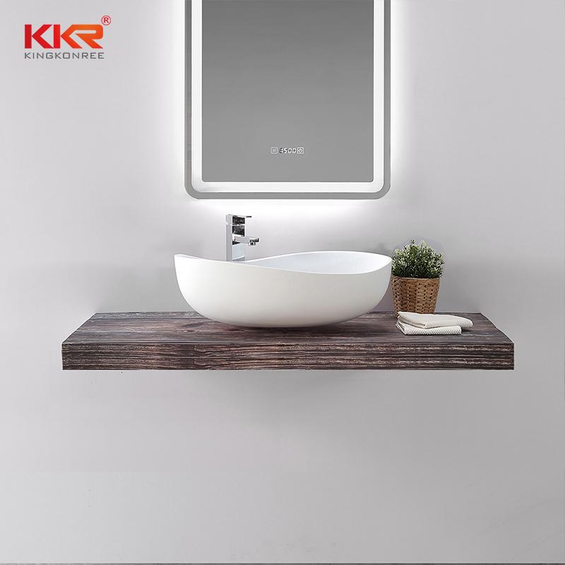 KKR Stone undermount bathroom sink bulk production for home-2