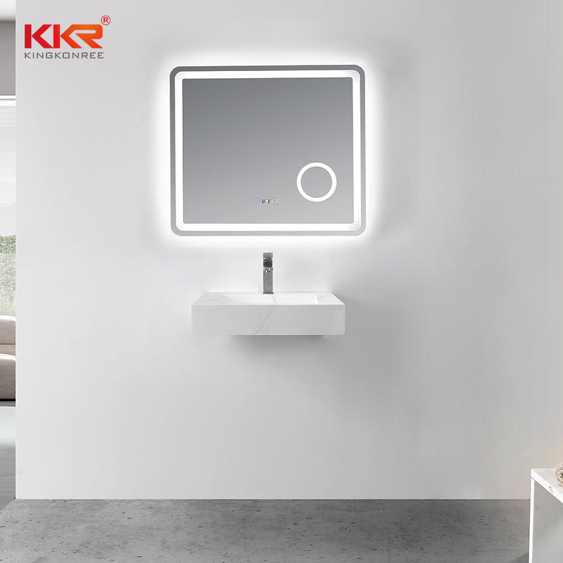 Hot Sales Artificial Marble Solid Surface Wall Hung Basin