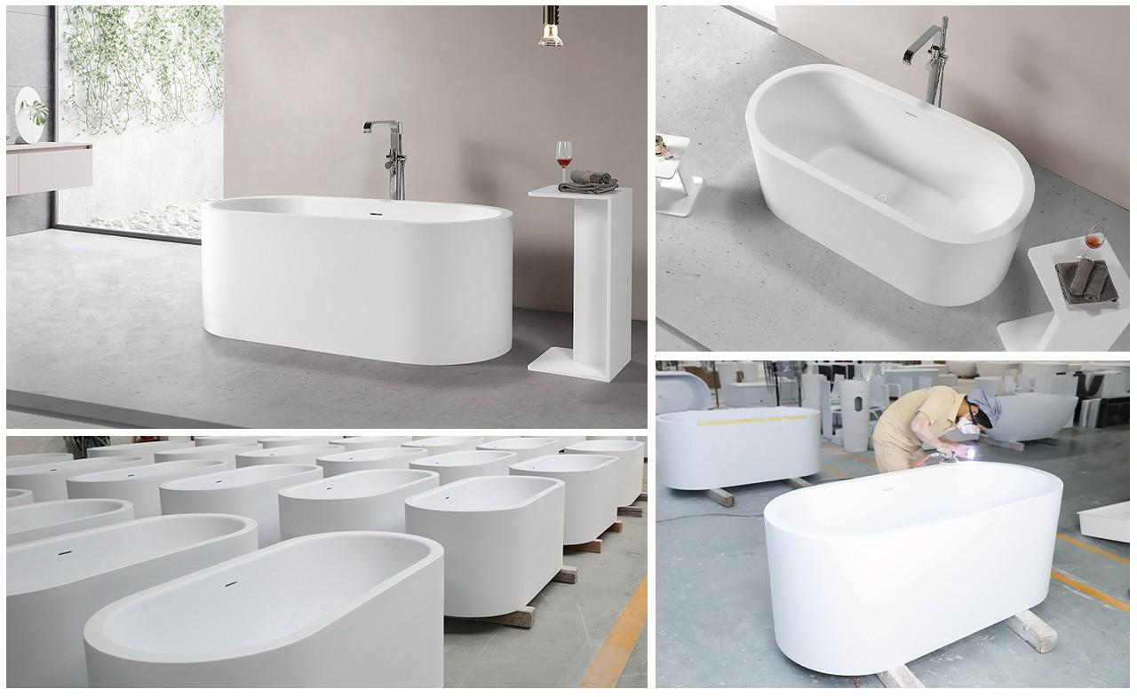 KKR Stone fine- quality bathtub paint directly sale for school building-1