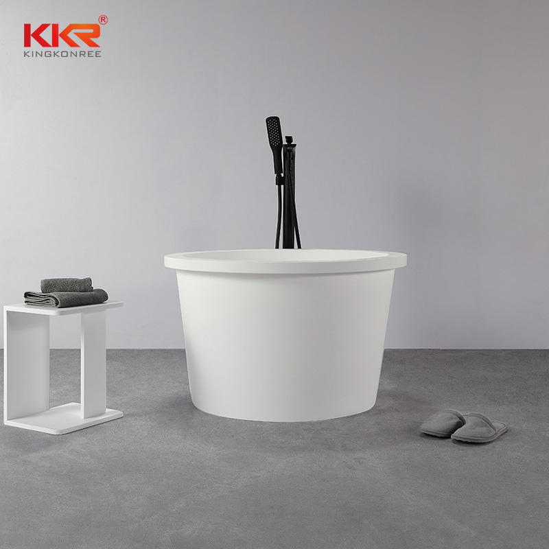 New Arrival Modern Sanitary Circular Mini Bath Tub