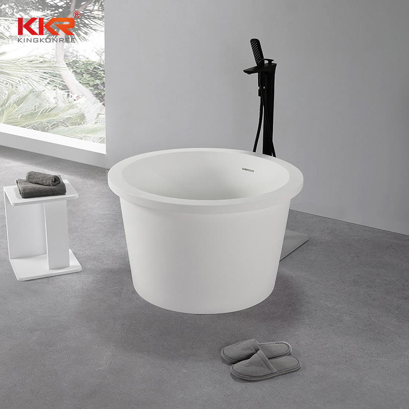 New Arrival Modern Sanitary Circular Mini Bath Tub