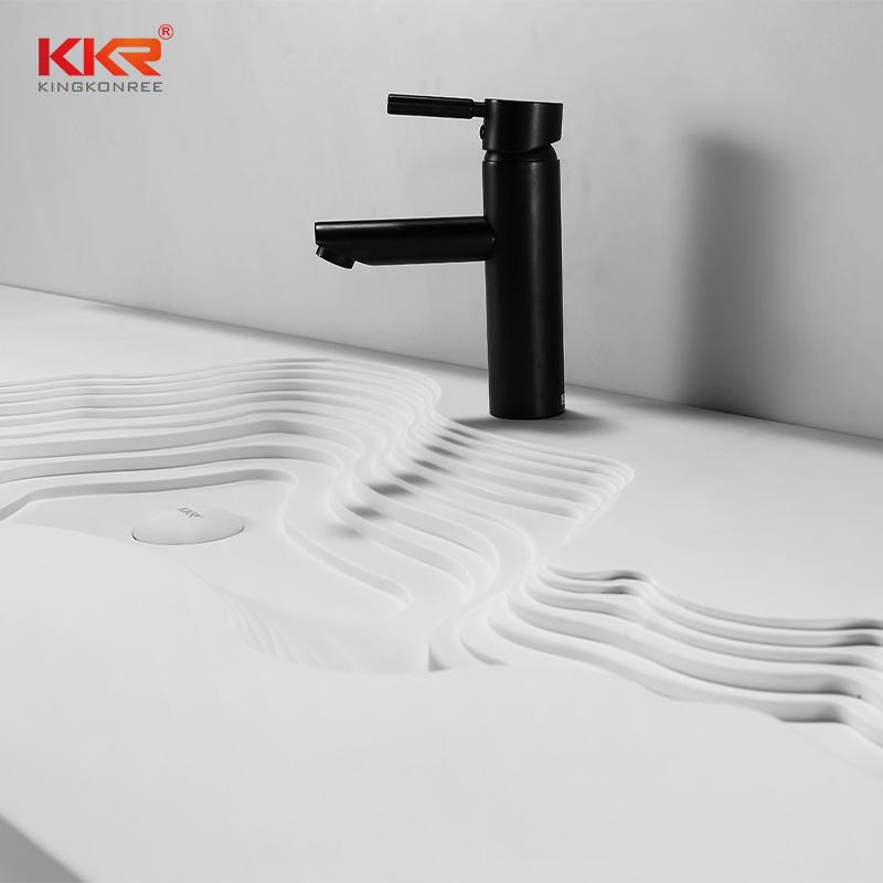 New Custom Made Design Bathroom Wall Hung Basin