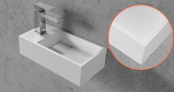 KKR Stone modern corian kitchen sinks custom-design for worktops-5