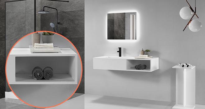 KKR Stone corian kitchen sinks supply for home-4