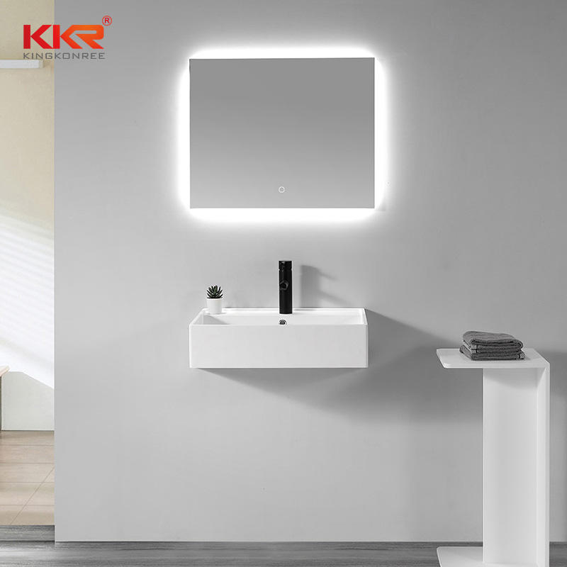 Hot Selling Small Size Wall Mounted Bathroom Washhand Basin Bathroom Sink