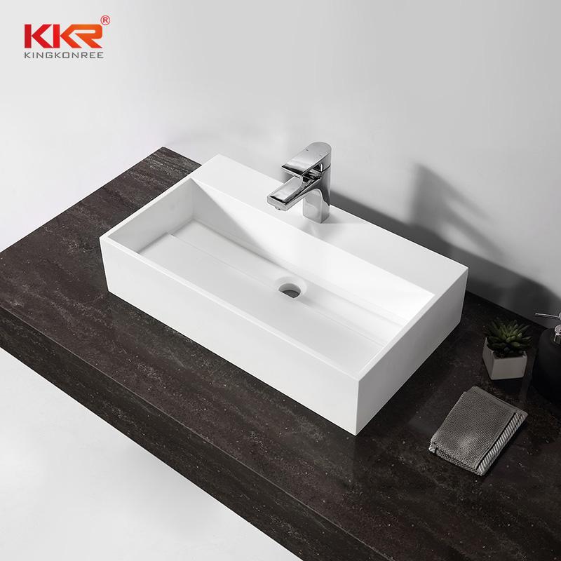 KKR Stone corian kitchen sinks bulk production for worktops-2