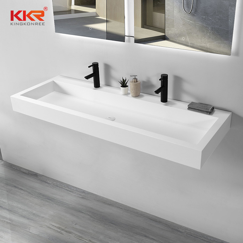 KKR Stone high tenacity bathroom vanity with sink supply for table tops-1