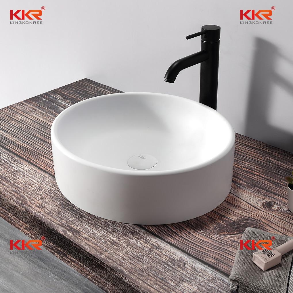 KKR Stone undermount kitchen sink custom-design for home-2