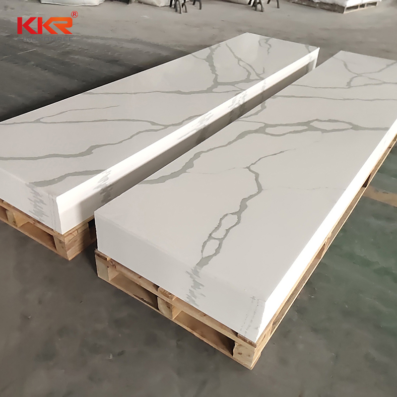 KKR Stone high strength veining pattern solid surface equipment for entertainment-2
