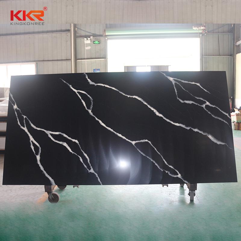 flame-retardant corian solid surface sheet veining vendor for garden table-2