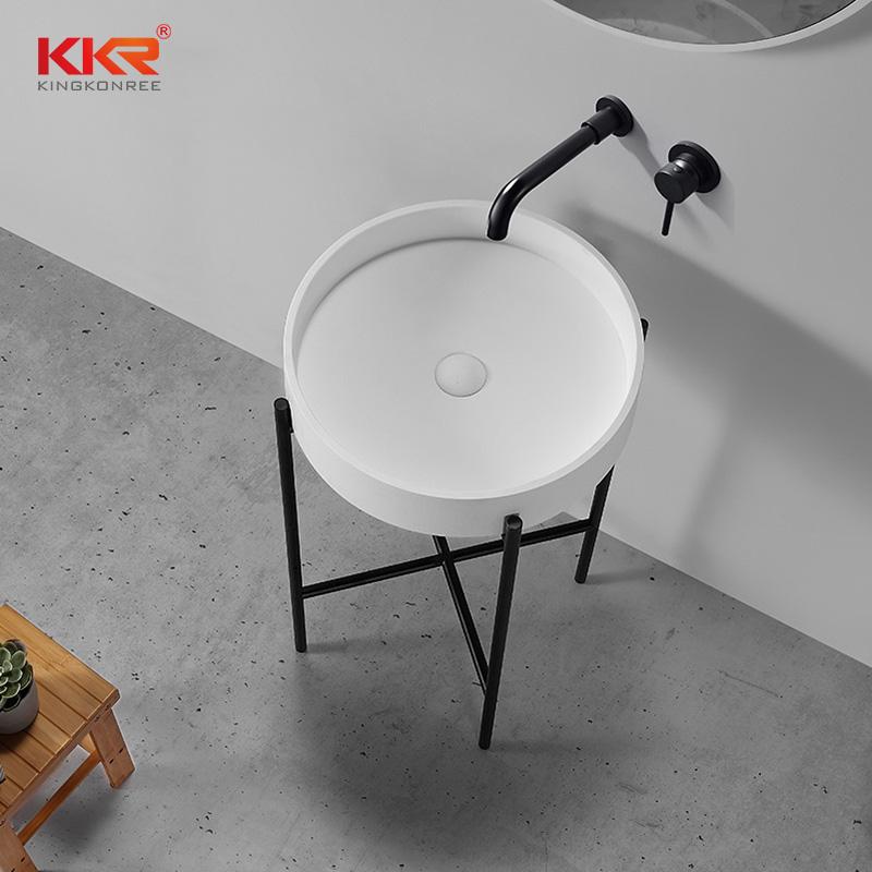 easily repairable corian sink custom-design for school building-2