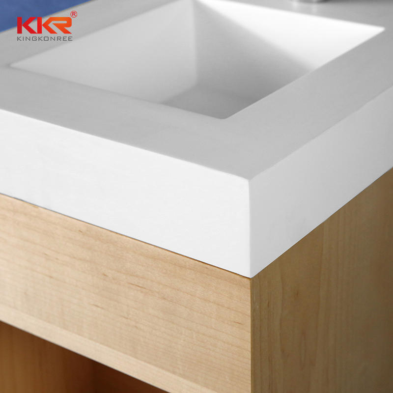 Small Size Vantiy Basin With Wall Hung Cabinet - Cabinet Basin KKR-XM371