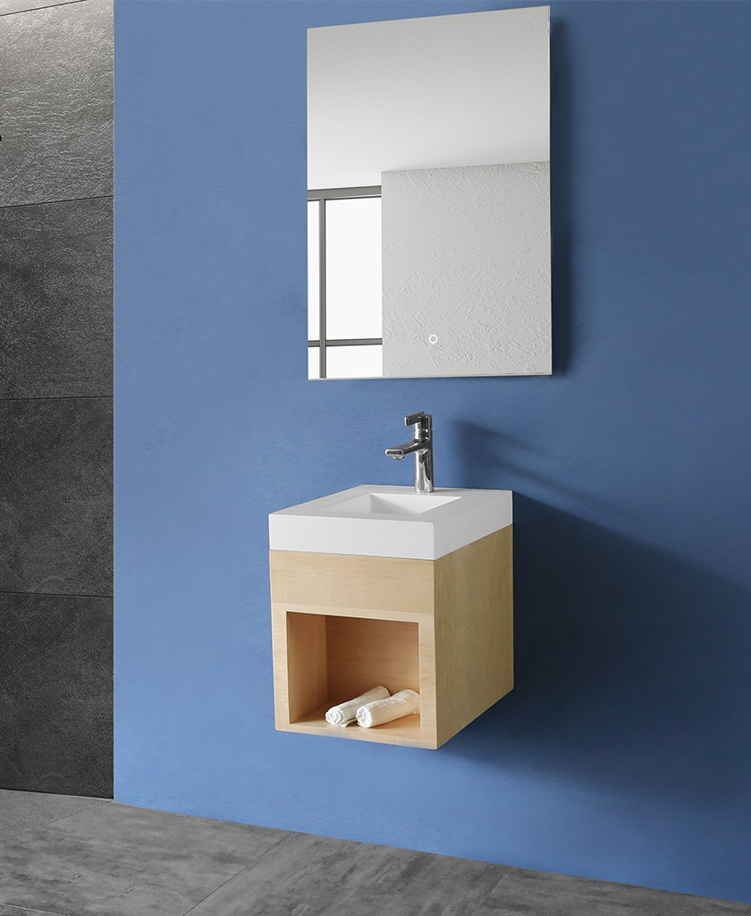 KKR Stone undermount kitchen sink in special shapes for school building-1