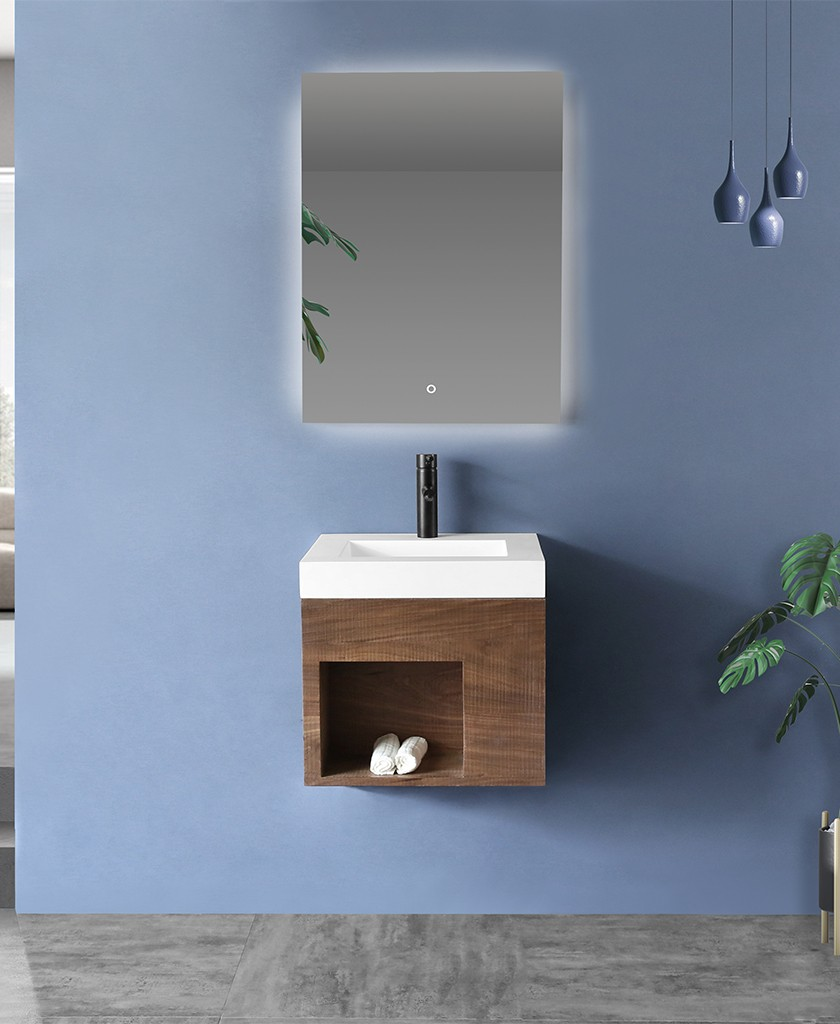 easy to clean corian vanity tops in special shapes for home-1