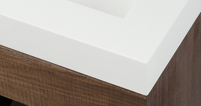 easy to clean corian vanity tops in special shapes for home-5