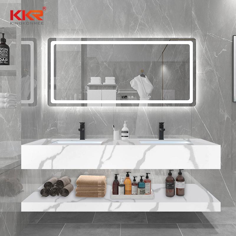 KKR Stone easily repairable corian sink vendor for worktops-2