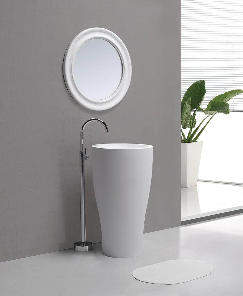 lassic style solid surface wash basin bulk production for table tops