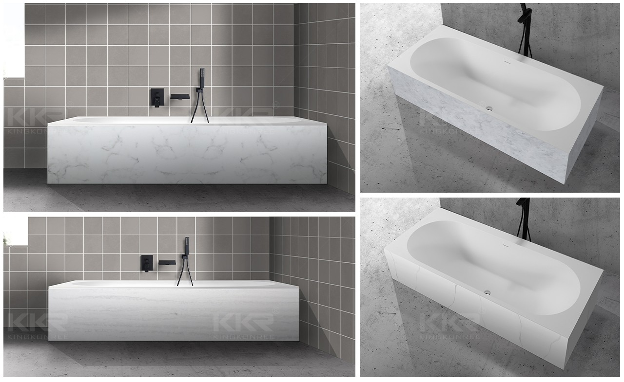 acrylic solid surface bathtub supply for worktops-1