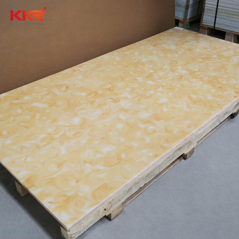Hot Sales Transparent Solid Surface Sheets KKR-A105