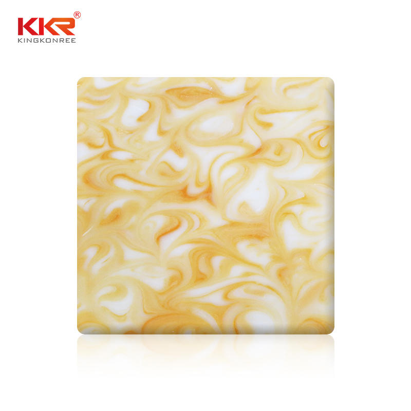 Hot Sales Transparent Solid Surface Sheets KKR-A105