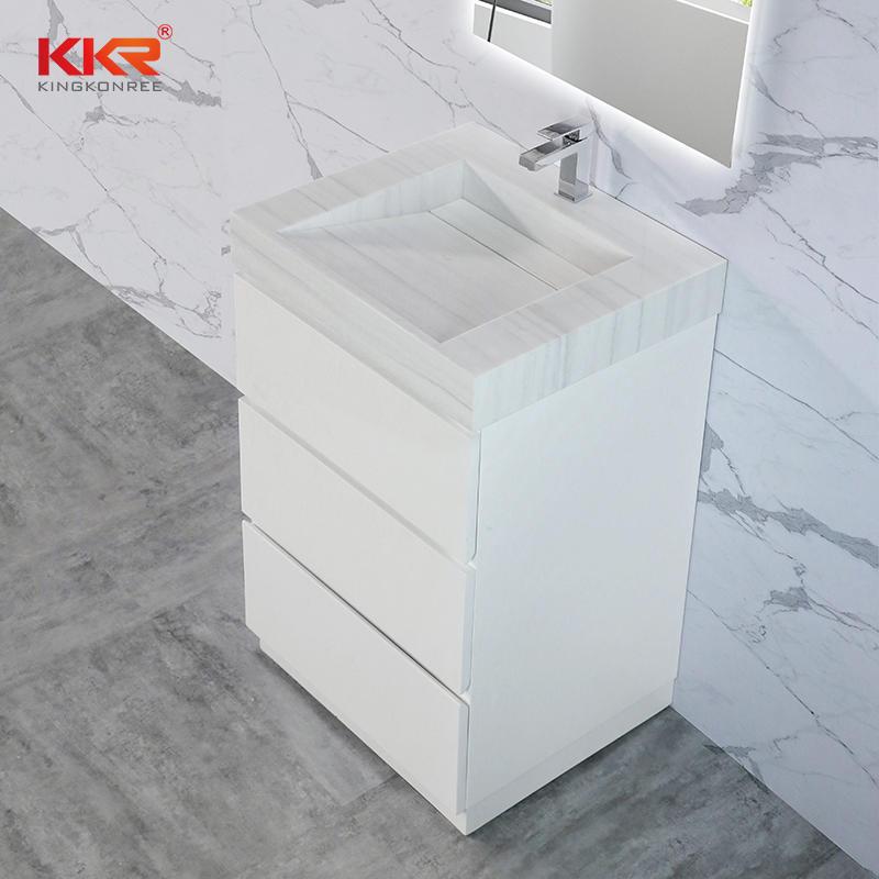 Small Size Vertical Bathroom Vanity Cabinet Freestanding Bathroom Cabinet KKR-CAB001