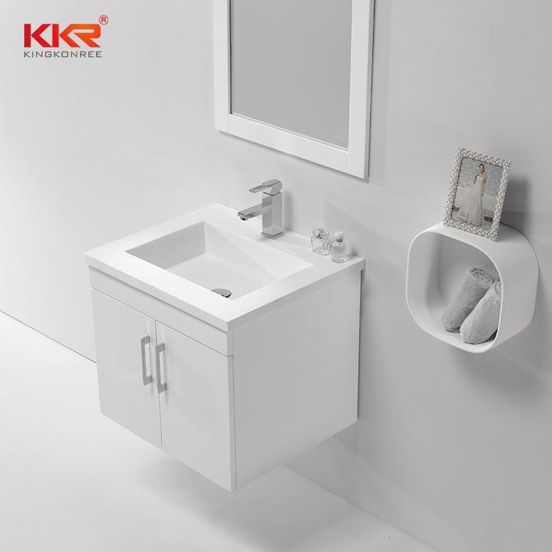 Wall Hung Cabinet Bathroom Vanity Modern Design Bathroom Cabinet KKR-701CH