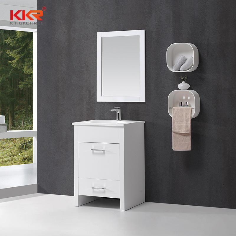 Small Size Square Bathroom Vanity Cabinet Set KKR-705CF