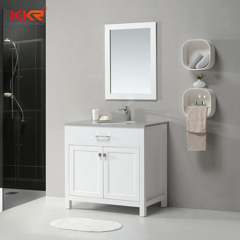 Customize High Quality Hotel Vanity Counter Bathroom Cabinet KKR-706CF