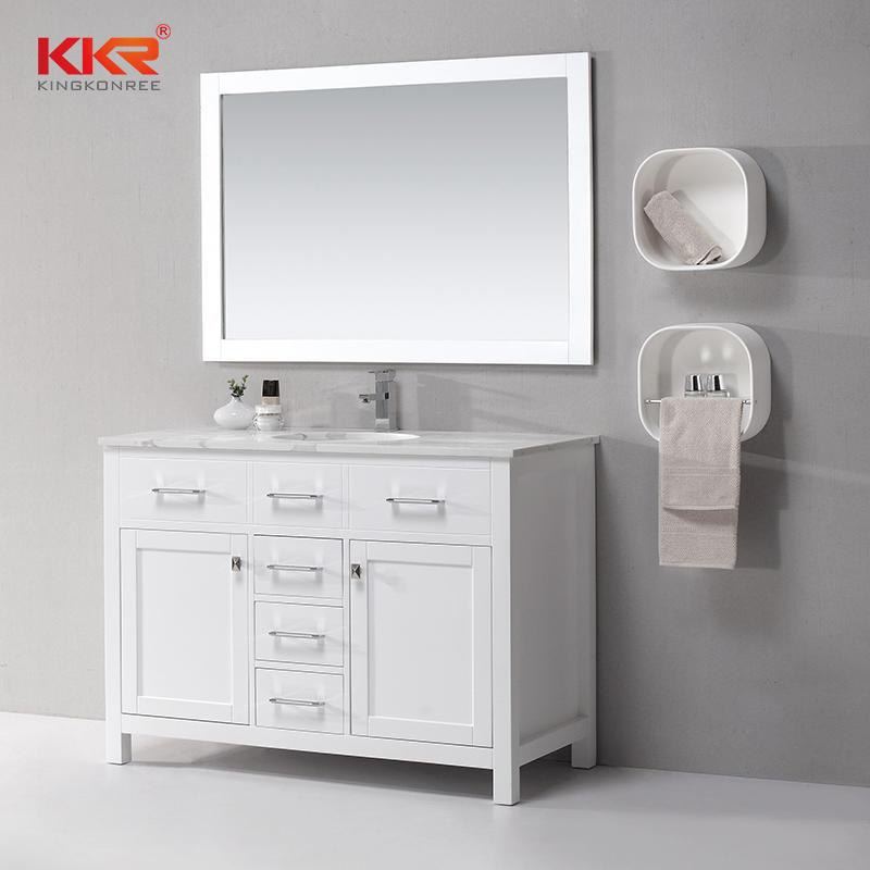 Modern Vertical Bathroom Furniture Washbasin Bathroom Cabinets KKR-707CF