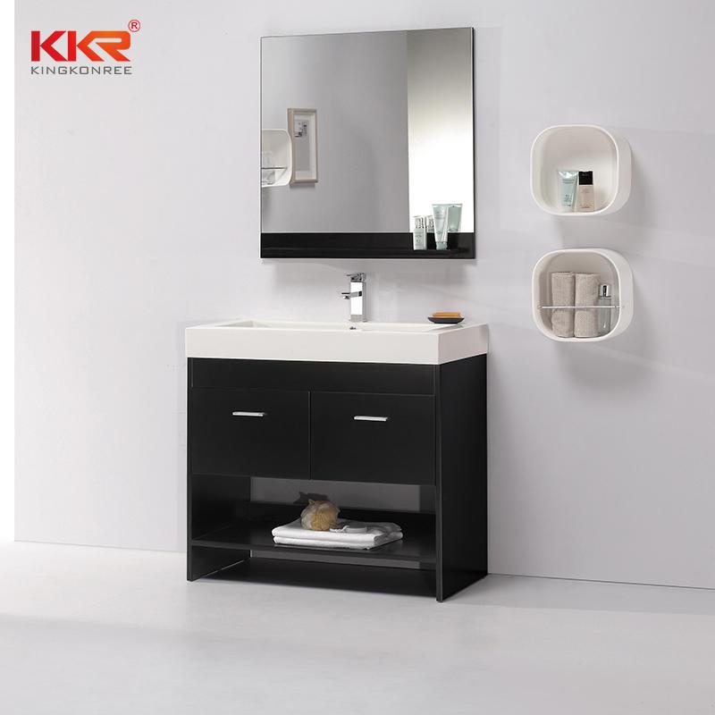 Modern Popular Large Size High Qulity Bathroom Cabinet Vanity KKR-710CF