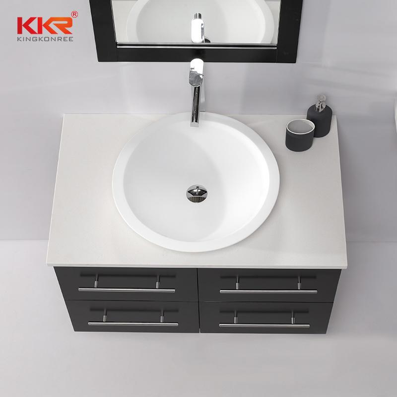 New Design Bathroom Vanity Solid Wooden Bathroom Cabinet KKR-708CH