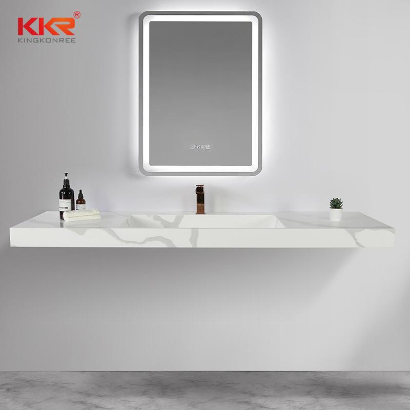 KKR Washbasin New Italian Design Sanitary Ware Bathroom Furniture Double Wash Basin Sink KKR-M069