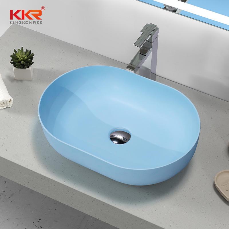 CUPC Modern Designs Artificial Stone Bathroom Sink Basin KKR-1151