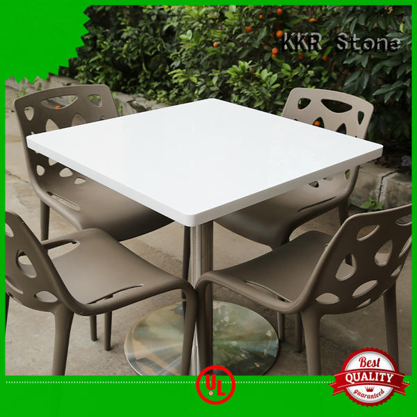 KKR Stone solid coffee shop table