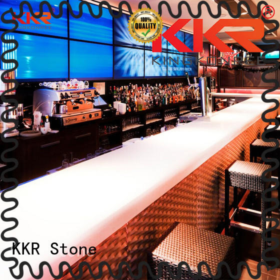 KKR Stone surface wall mounted bar countertop