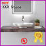KKR Stone modern bathroom vanity with sink bulk production for table tops