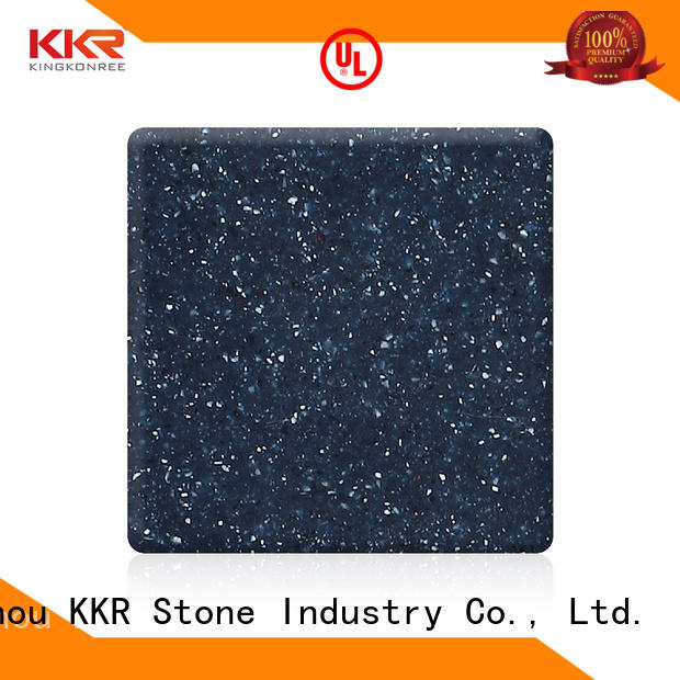 easily repairable modified acrylic solid surface artificial superior stain for bar table