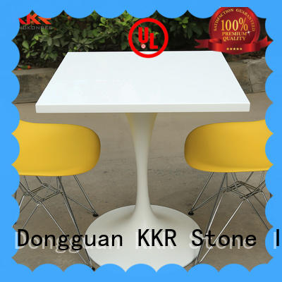 marble dining table set surface KKR Stone