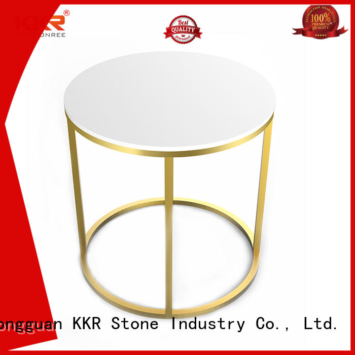 luxury marble dining table solid KKR Stone