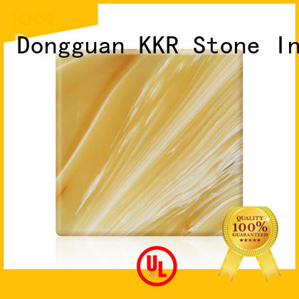 KKR Stone high strength solid surface material color for bar table