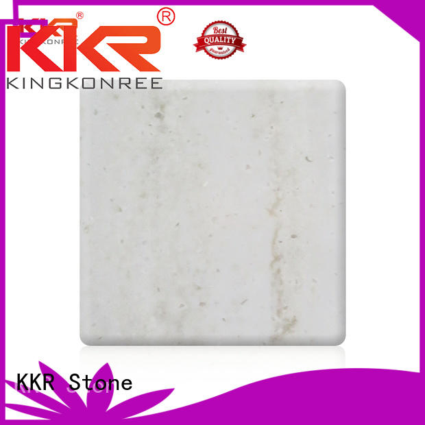 length solid surface sheet factory price for early education KKR Stone